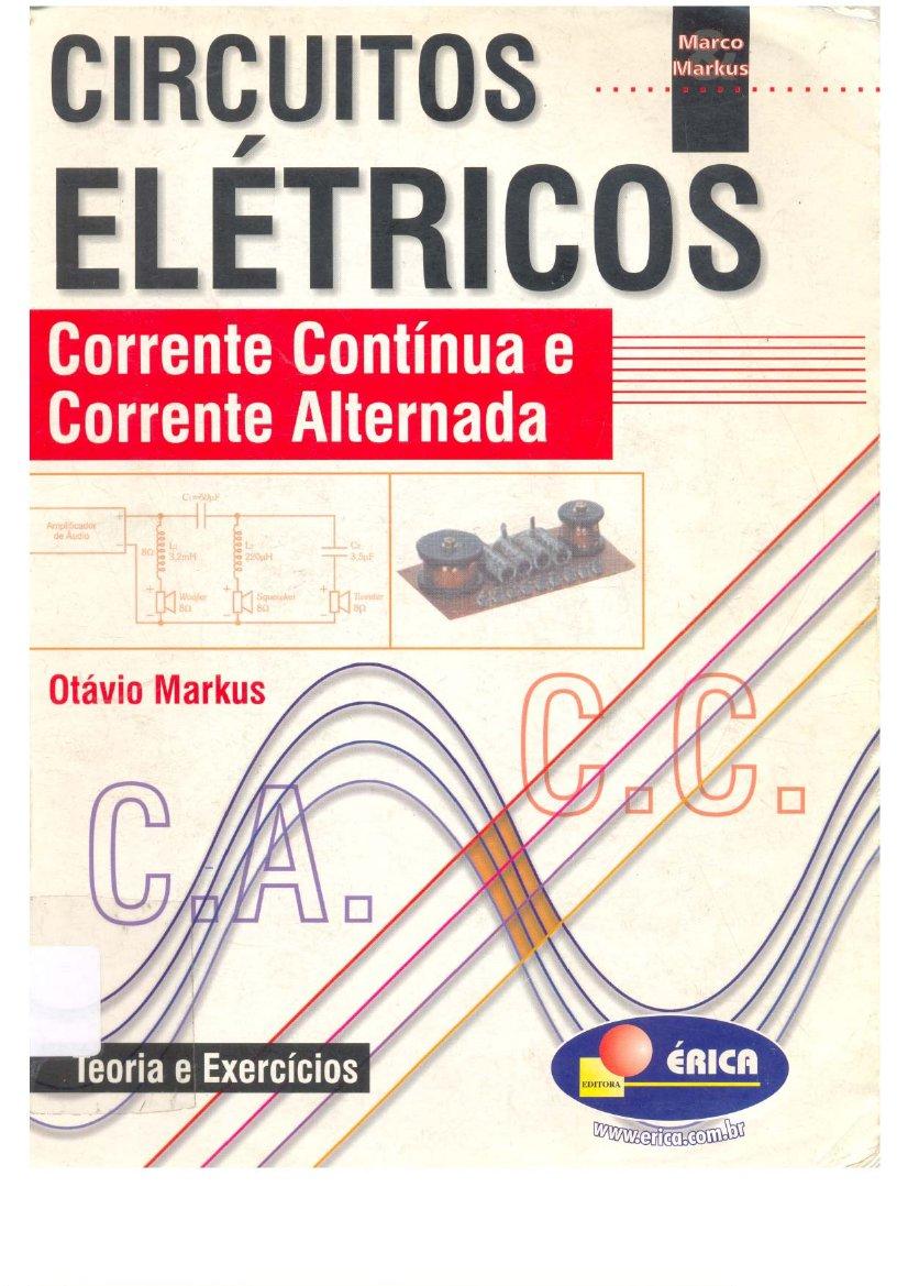 Circuito Eletronica : Circuitos elétricos ac dc otávio markus livros de eletrônica